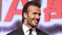"David Beckham officially looks terrifying in his ""King Arthur"" makeup"
