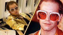 Taron Egerton makes an epic transformation into Elton John for 'Rocketman'