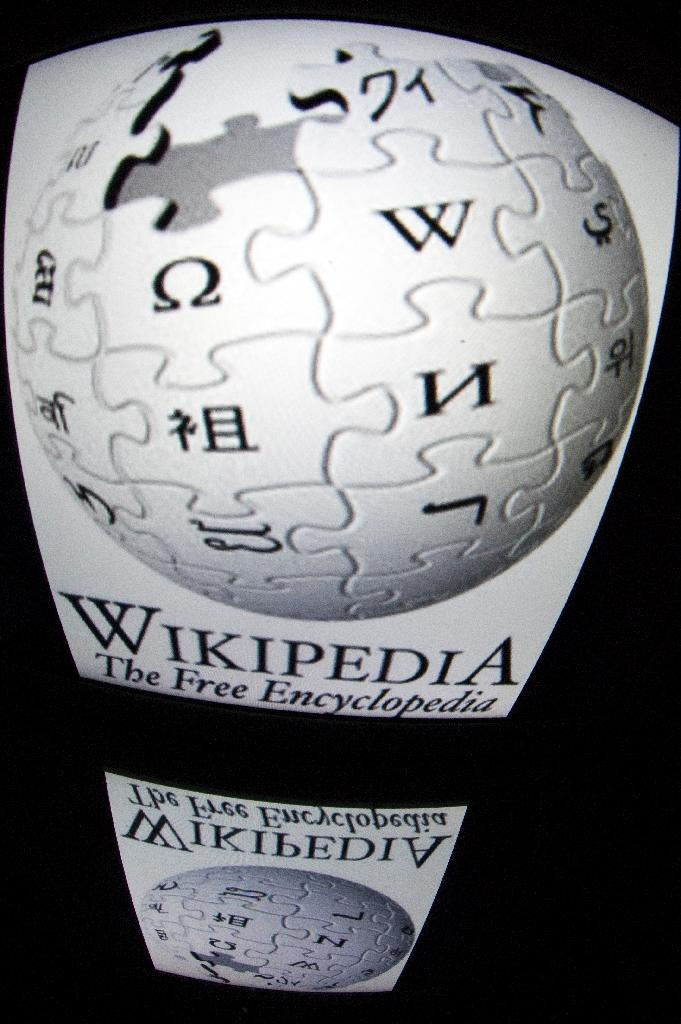 Wikipedia went down in at least three countries in a protest over the vote (AFP Photo/LIONEL BONAVENTURE)