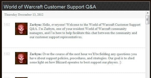 Blizzard Customer Support live Q&A recap