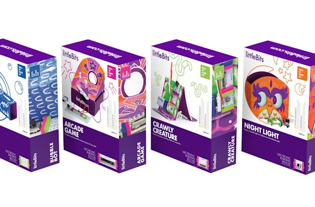 littleBits launches more accessible $40 'Hall of Fame' kits