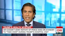 Sanjay Gupta Points Out Just How Unusual Trump's Walter Reed Visit Really Was