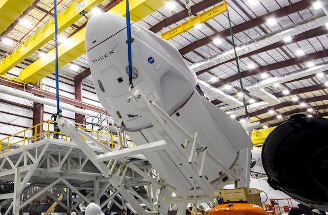 SpaceX gets the go-ahead for Crew Dragon launch to ISS next week