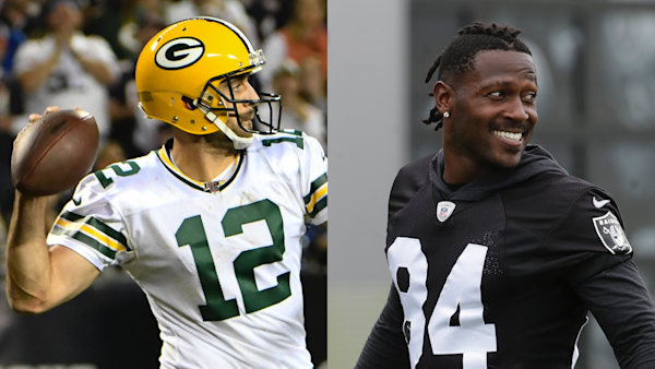 buy online 244f9 e9418 The Rush: Aaron Rodgers leads Pack to win as AB leads ...