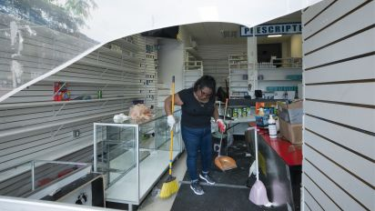 Small-business owners face disaster after looting
