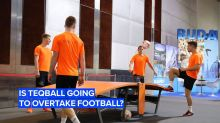 Are you up for a game of teqball?