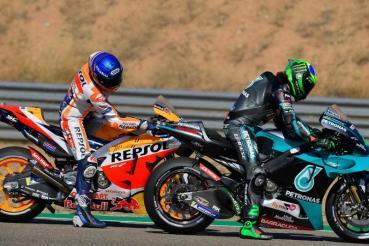【MotoGP戰報:亞拉岡站】Suzuki後追一路挺進,最終奪下冠季軍,小Marquez再度站上頒獎台證明實力