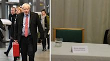 Boris Johnson misses another debate as he fails to show at local hustings