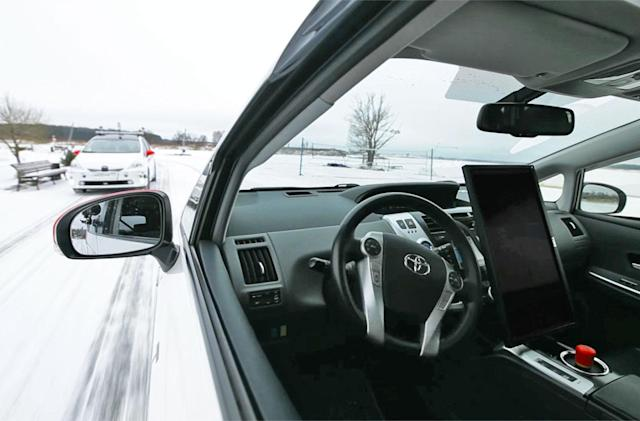 Yandex wants to ensure its self-driving cars can survive the winter