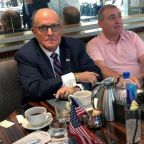Rudy Giuliani contradicts himself in TV interviews over Trump meeting with Lev Parnas