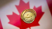 Canadian dollar falls as rising coronavirus cases pressures stocks