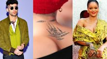 Miley Cyrus Got a Tattoo of a Naked Woman on Her Arm