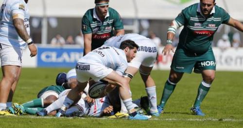 Rugby - Top 14 - Le Racing 92 bat Pau in extremis et rentre dans les 6 premiers