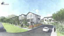 Nearly 100 homes, mostly duplexes, are proposed for this site in Garden City