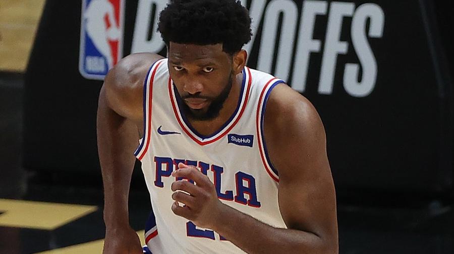 76ers' hopes teetering on Embiid's health, again