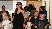 Watch Angelina Jolie's Kids Grow Up...At Airports