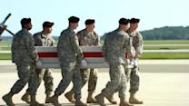 Body of US general killed in Afghanistan returns home