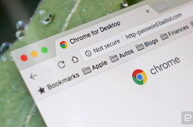 Chrome will provide clearer warnings for insecure retail sites