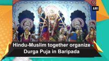 Hindu-Muslim together organize Durga Puja in Baripada