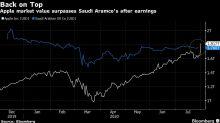 Apple Tops Saudi Aramco as World's Most Valuable Company