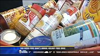 San Diego Food Bank's annual holiday food drive