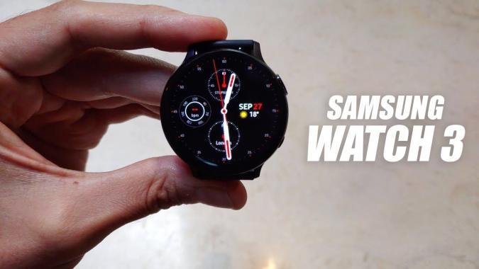 Samsung galaxy watch 3 leak