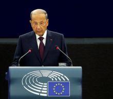 Hezbollah sanctions harming Lebanon, says President Aoun