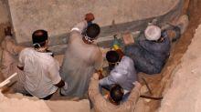 Egipto: abrieron el sarcófago atribuido a Alejandro Magno