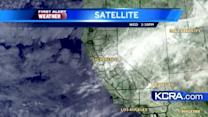 Wednesday Weather Update for Northern California 12.5