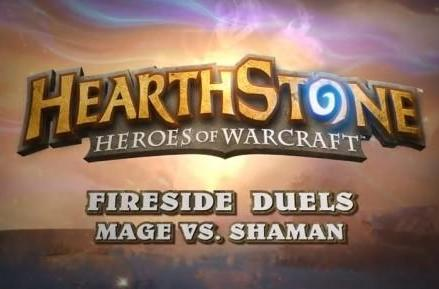 Hearthstone video pits mage against shaman