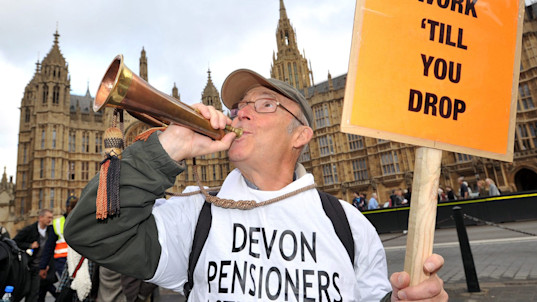 Pensioners' mortgage debts to double to £40bn by 2030