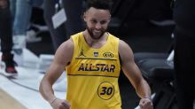 Curry sinks final shot, tops Conley for second 3-point title