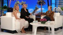 Kate Hudson Tells Ellen DeGeneres About Mom Goldie Hawn's Unusual Birthing Gift