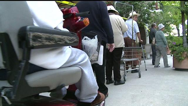 Study: More Seniors Need Food Bank Assistance