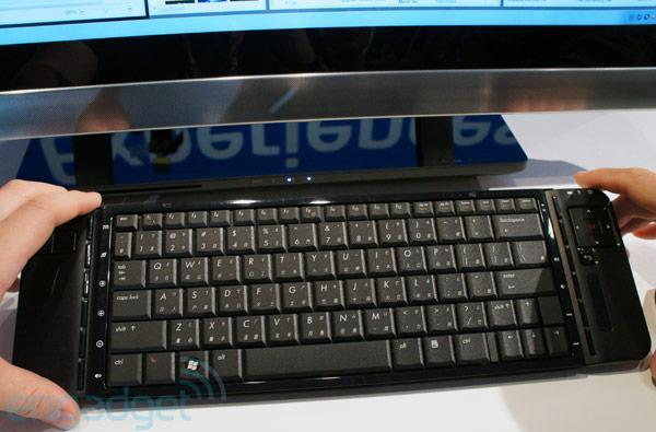 Intel shows off wireless keyboard that re-juices via resonant charging (video)