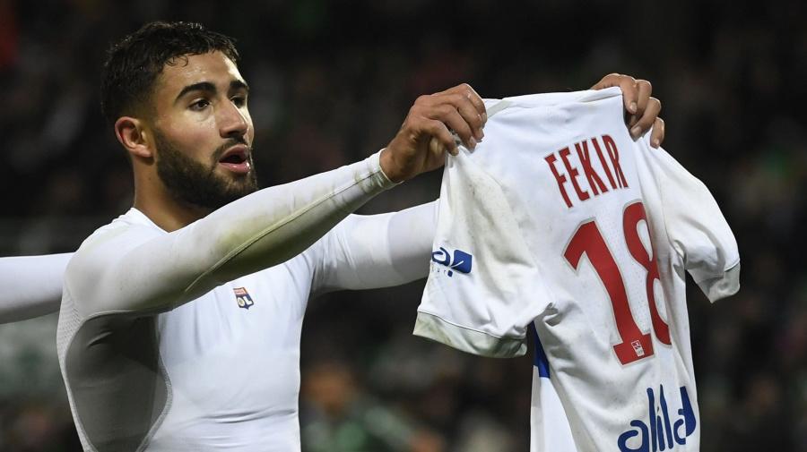 Fekir denies knee problem ended Reds move