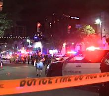 Mass shootings in Chicago and Austin. At least 23 people wounded, reports say.