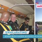 Jenna Bush Hager Skydives in Honor of Late 'Gampy' George H. W. Bush: 'I Jump for Him'