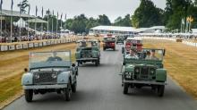 2018 Goodwood Festival of Speed Highlights: 70 Years of Land Rover, Maserati Levante GTS, Mustang & More