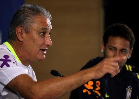 Tite concede entrevista na Arena Corinthians