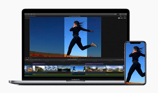 Auto cropping for social media in Final Cut Pro X