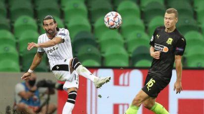Após eliminar Benfica de Jesus, PAOK perde para o Krasnodar na ida dos playoffs da Champions; veja placares