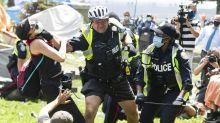 Toronto, Vancouver Island protests shine spotlight on media access