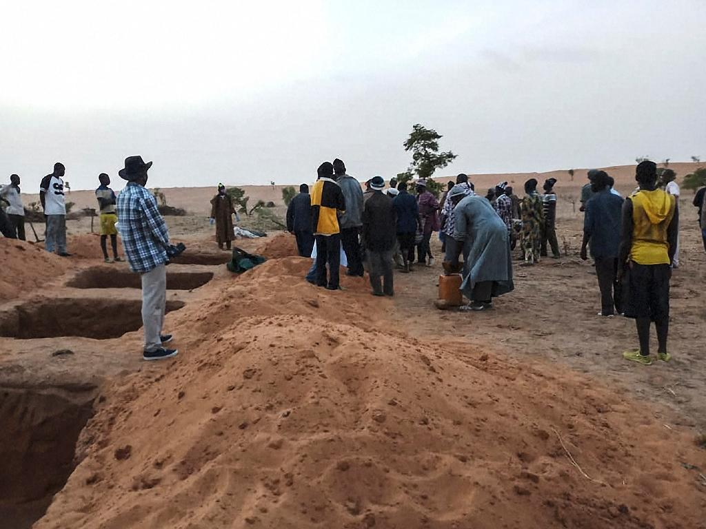 An attack on another Mali village left 35 people dead, part of a cycle of ethnic violence (AFP Photo/STRINGER)
