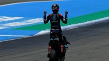 Quartararo keeps cool to win searing Andalucia MotoGP