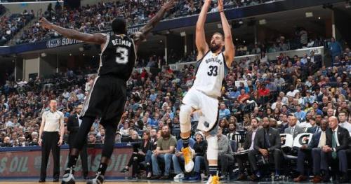 Basket - NBA - Memphis bat encore San Antonio