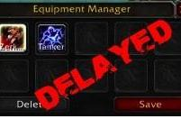 Equipment Manager will not be in 3.1