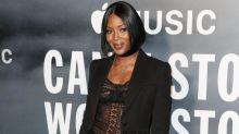 Naomi Campbell y el rapero Skepta ya no ocultan su amor en público