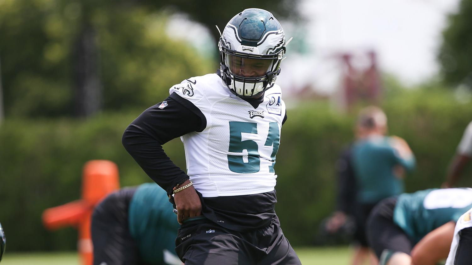 buy cheap d7ca9 f1964 Stories of Eagles' jersey number changes after final cuts
