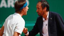 Tennis 'brat' screams at umpire in 'disgusting' tantrum